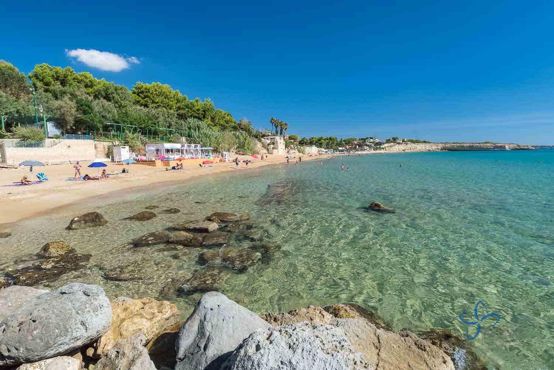 Der Strand Von Gallina Syrakus Sizilien